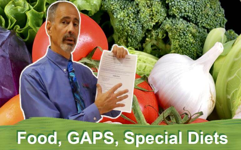 Food, Gaps, Special Diets